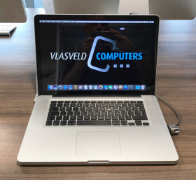 Apple MacBook Pro 15 Inch 2,3Ghz i7 8Gb 500Gb SSD Superdr. 2012