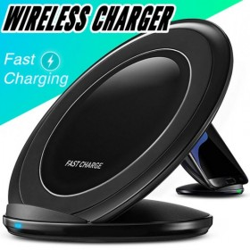 QI Wireless Fast Charger For iPhone X incl adapter